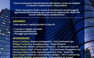"E-levation – Innovation Angels partecipa all'evento ""Capitali per Crescere"""